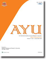 AYU (An International Quarterly Journal of Research in Ayurveda)